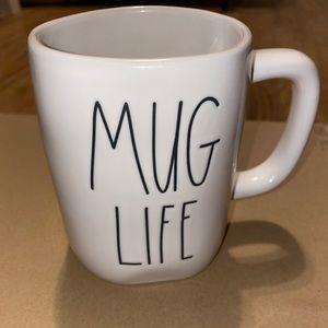 """New Rae Dunn """"Mug Life"""" Mug"""